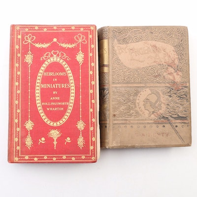 "First Edition ""By England's Aid"" with ""Heirlooms in Miniatures"""