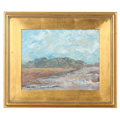 Perry Frey Landscape Oil Painting