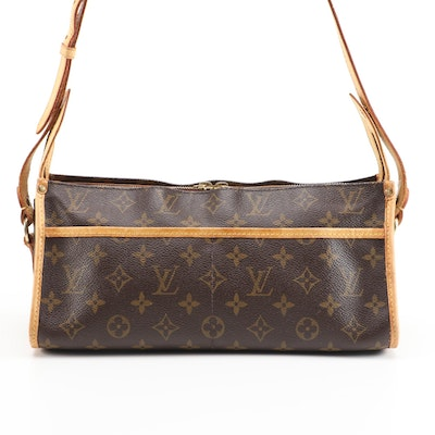 Louis Vuitton Popincourt Crossbody Bag in Monogram Canvas and Vachetta Leather