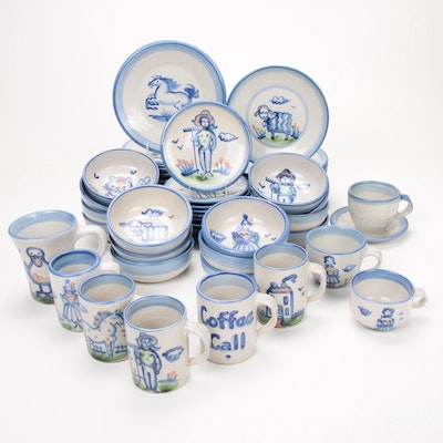 "M.A. Hadley ""Country"" and ""Traditional"" Ceramic Dinnerware"