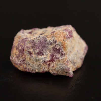 Loose 20.78 CT Rough Ruby
