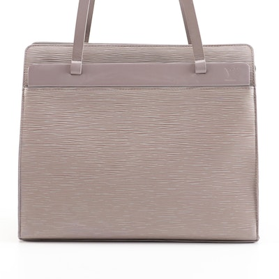 Louis Vuitton Croisette Tote Bag in Lilac Epi Leather