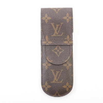 Louis Vuitton Etui Stylos Pen Holder in Monogram Canvas