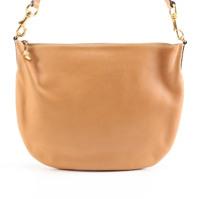 Gucci Tan Leather Hobo Shoulder Bag