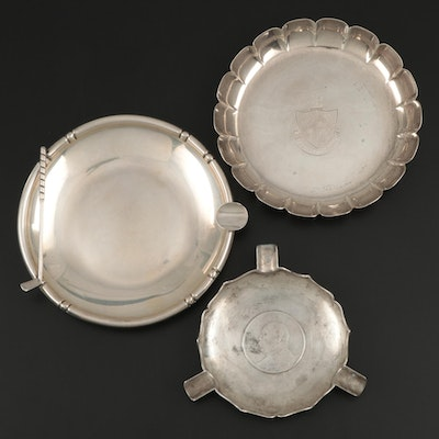 B. & M. Sterling and Tuttle Silversmiths Silver Sterling with 925 and 800 Silver