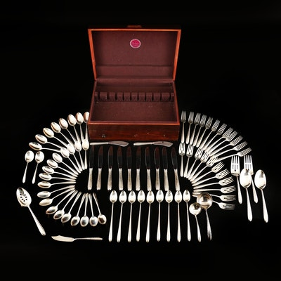 "Towle ""Silver Flutes"" Sterling Silver Flatware and Serving Utensils"