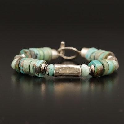 Silpada Sterling Turquoise Bracelet