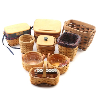 Longaberger Handcrafted Basket Collection