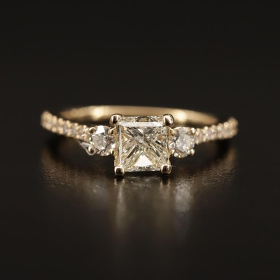 Gabriel & Co. 14K 1.42 CTW Diamond Ring