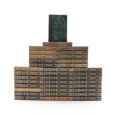 """The Works of Honoré de Balzac"" Thirty-Six Volume Set, 1915"