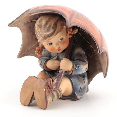 "Goebel Hummel ""Umbrella Girl"" Porcelain Figurine, 1960–1972"