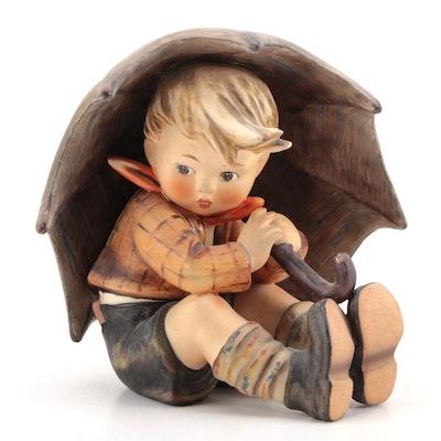 "Goebel Hummel ""Umbrella Boy"" Porcelain Figurine, 1960–1972"