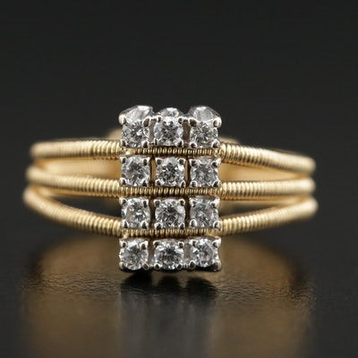 Marco Bicego 18K Diamond Ring