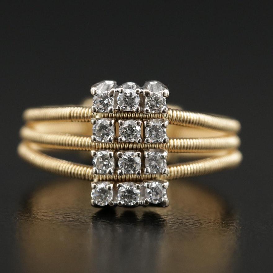Marco Bicego 18K Diamond Ring