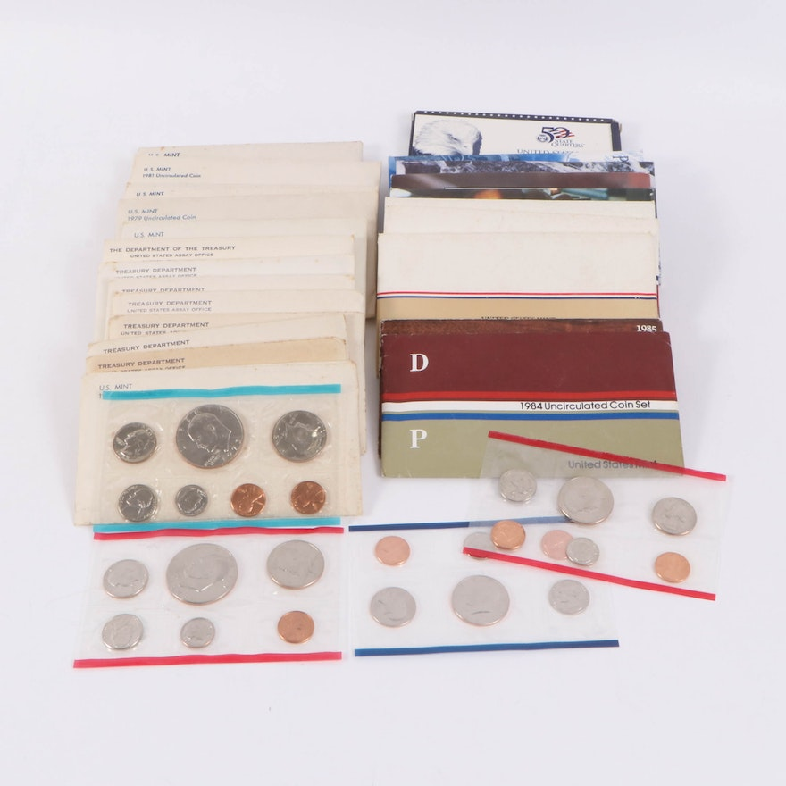 U.S. Mint Uncirculated and Proof Coin Sets