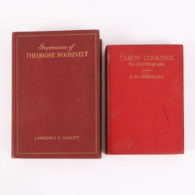 """Impressions of Theodore Roosevelt"" by Lawrence Abbott and More, Early 20th C."