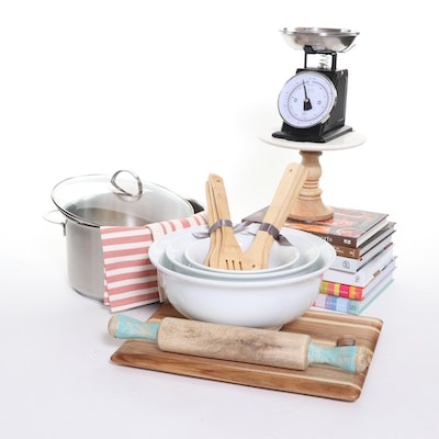 Essential Baking, Cooking and Kitchen Tools, Gourmet Cookbooks