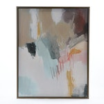 """Abstract Embellished Giclée """"A Brand New Day"""", 21st Century"""