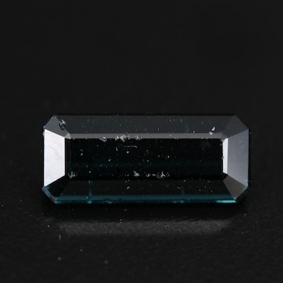 Loose 4.58 CT Indicolite Tourmaline