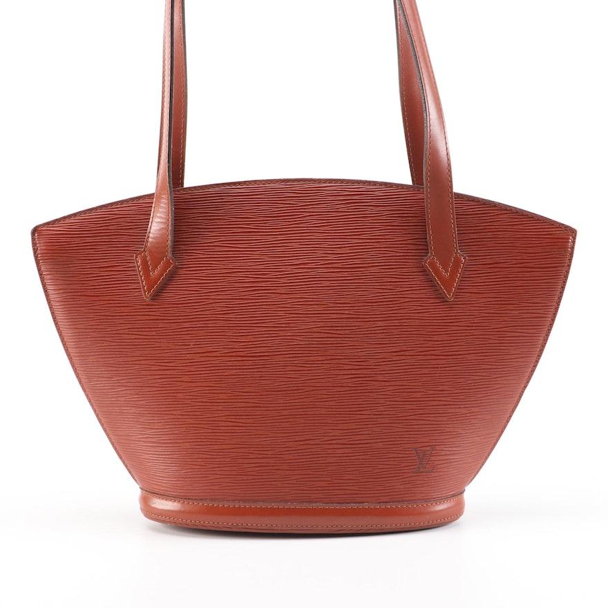 Louis Vuitton Saint-Jacques Poignees Longues in Kenyan Fawn Epi Leather