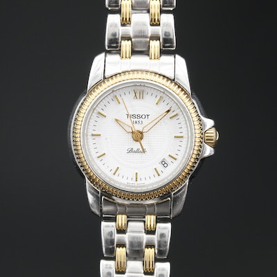Tissot Ballade Two Tone Stainless Steel Quartz Wristwatch