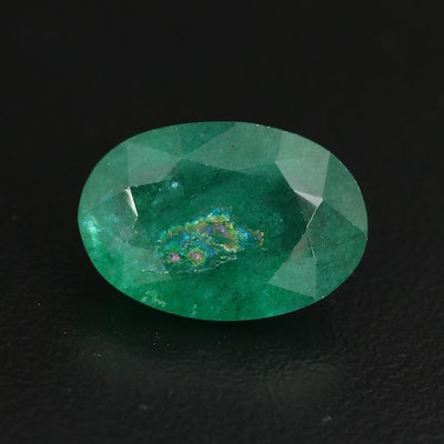 Loose 8.03 CT Oval Faceted Beryl