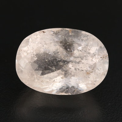 Loose 34.91 CT Oval Faceted Morganite
