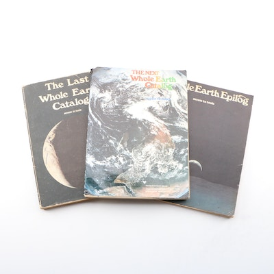 """Whole Earth Catalog"" Counterculture Magazine, Mid to Late 20th Century"