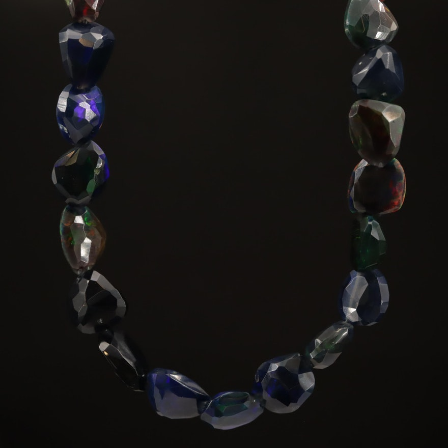 Opal Beaded Necklace