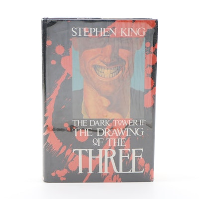 "First Trade Edition ""The Dark Tower II: The Drawing of the Three"" by King, 1987"
