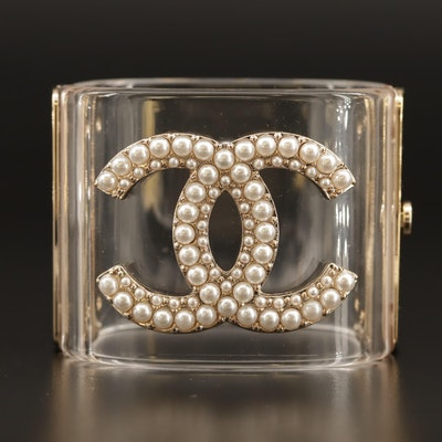 Chanel Hinged Bangle