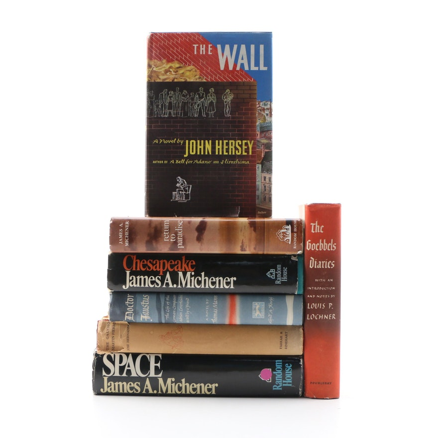 """""""The Wall"""" by John Hersey with More Fiction and Nonfiction Books"""