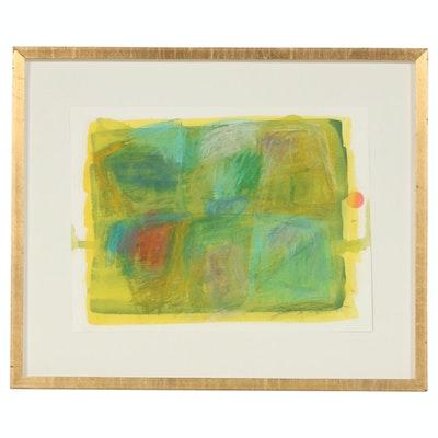 "Mixed Media Painting ""Abstract"", 2002"