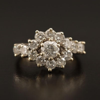 14K 1.90 CTW Diamond Ring