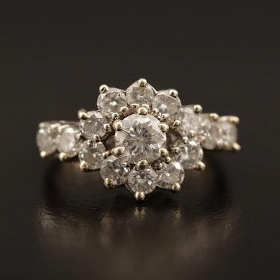 14K 1.90 CTW Diamond Ring