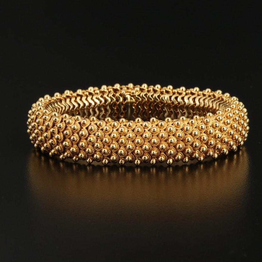 Vintage Tiffany & Co. 18K Cannetille Bracelet