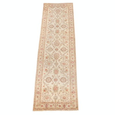 2'10 x 10'10 Hand-Knotted Pakistani Wool Carpet Runner for The Rug Gallery
