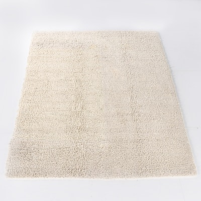 8'0 x 10'4 Hand-Knotted Wool Shag Rug