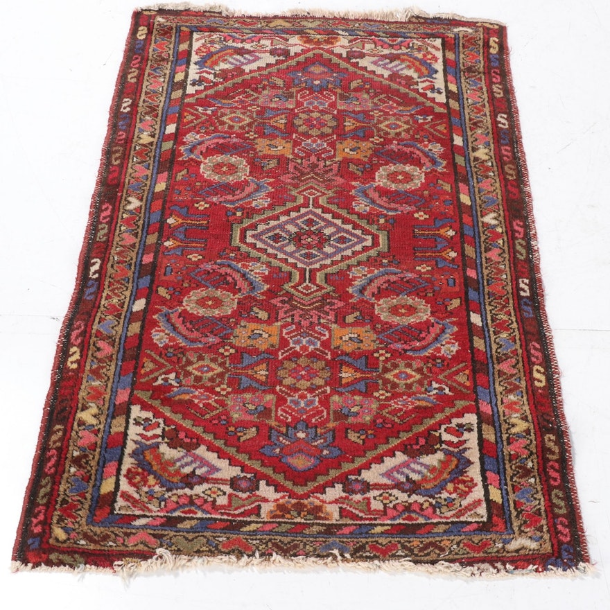 2'5 x 4'0 Hand-Knotted Persian Gogarjin Wool Rug