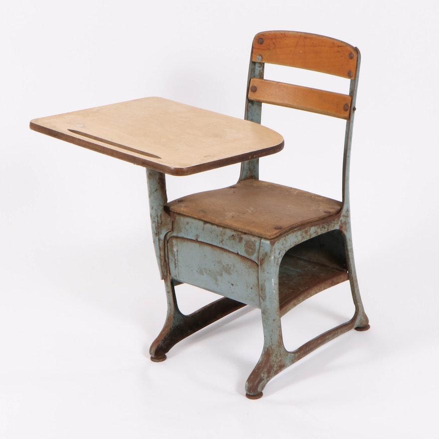 "American Seating Co. ""Envoy"" School Desk Chair, Mid-20th Century"