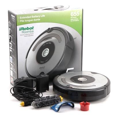 iRobot Roomba 655 Robot Vacuum with Original Packaging