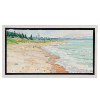 """Joe Lombardo Oil Painting """"Friedman"""", 2013"""