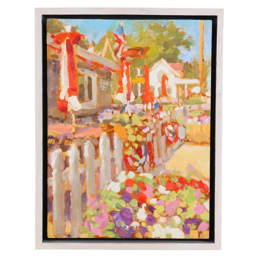"Joe Lombardo Oil Painting ""Celebration"", 2014"