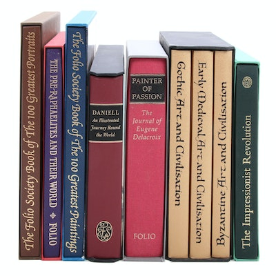 Folio Society Art Masterpiece Books