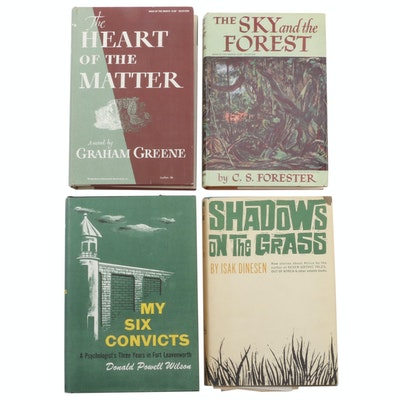 """Book of the Month Club Selections Featuring """"The Sky and the Forest"""" by Forester"""