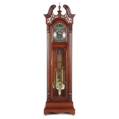 "Howard Miller Cherry Case ""Ambassador Collection"" Grandfather Clock"