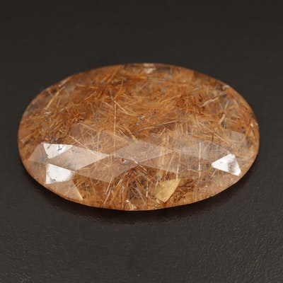 Loose 87.50 CT Rutilated Quartz