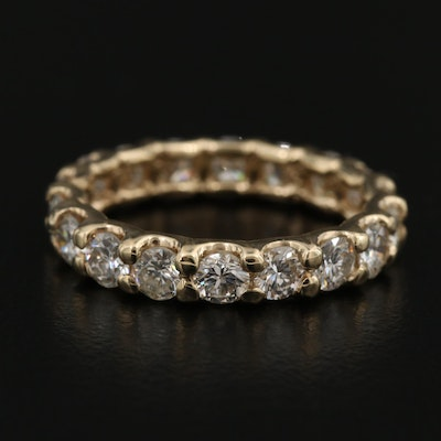 14K 2.34 CTW Diamond Eternity Band