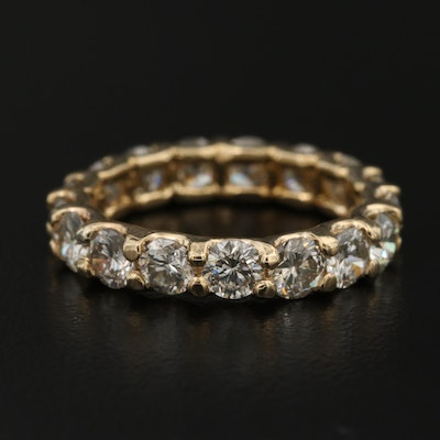 14K 3.50 CTW Diamond Eternity Band