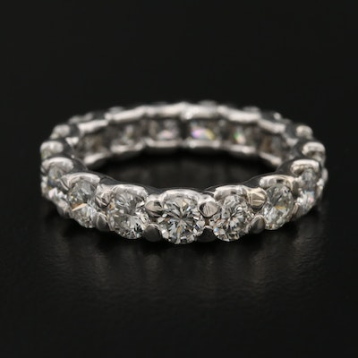 14K 2.80 CTW Diamond Eternity Band